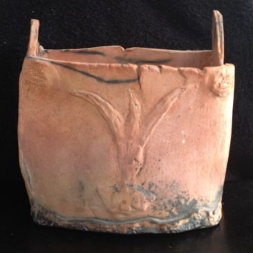 Saggar Fired Box Vessel
